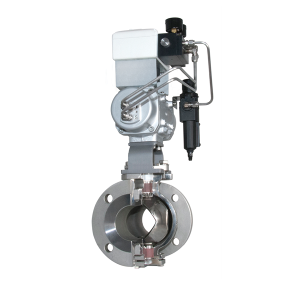 Model V-Port Control Ball Valves