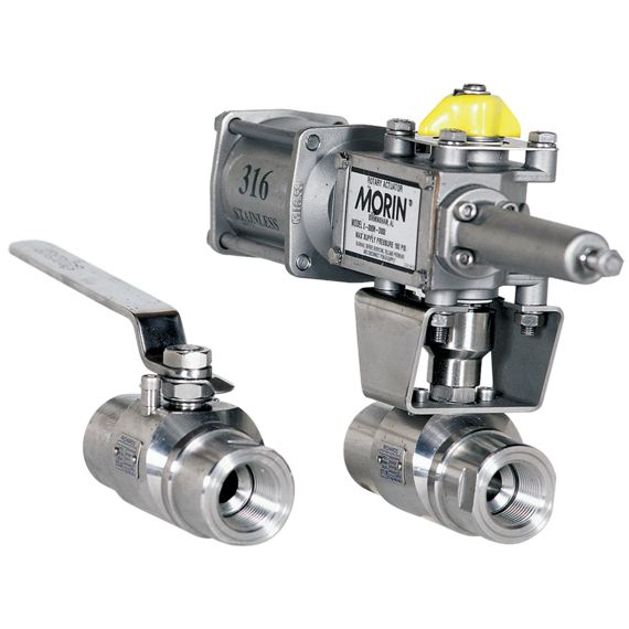 Series EB538/EB535 Floating Ball Valve