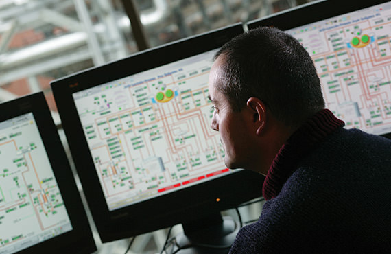 Extending the utility of the control system across the entire manufacturing operation is one of the key value propositions Emerson provides.